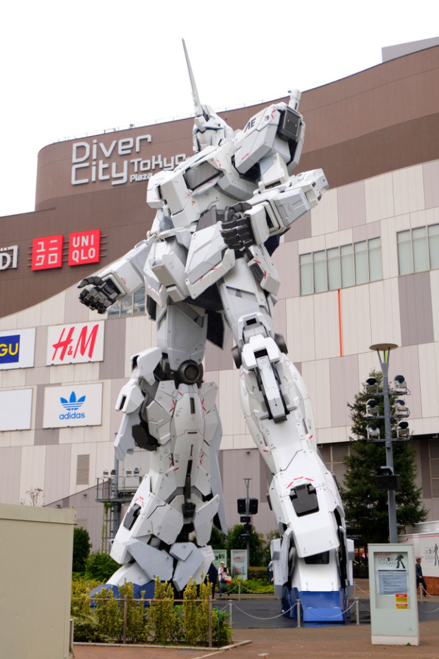 Robot Gundam Setinggi 18 Meter Siap Dibuka di Jepang 19 Desember (234061)