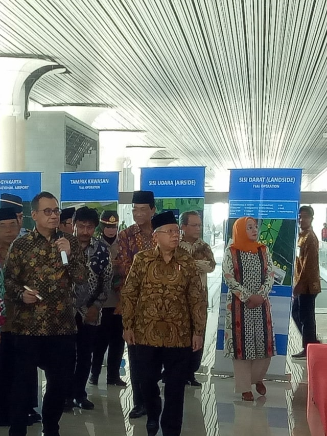 Ma'ruf Harap Bandara Baru Yogyakarta Mampu Naikkan Jumlah Turis Asing (89961)