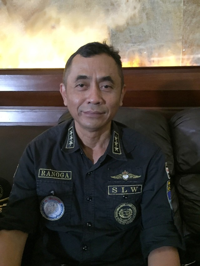 PTR, Petinggi Sunda Empire HRH Ki Ageng Ranggasana