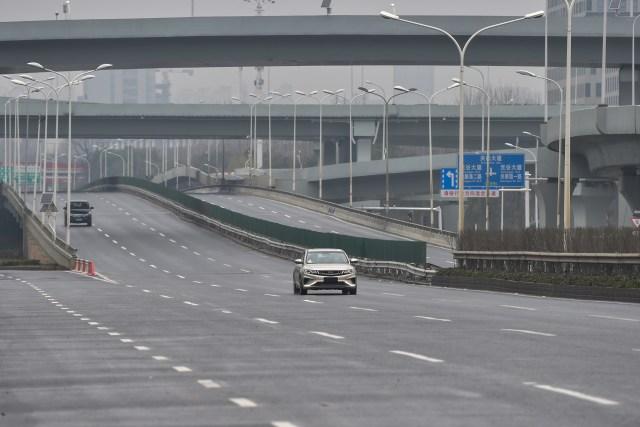 Foto: Hari Pertama Imlek, Kota Wuhan Sepi Imbas Virus Corona (34171)