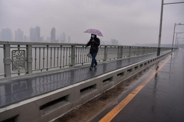 Foto: Hari Pertama Imlek, Kota Wuhan Sepi Imbas Virus Corona (34173)