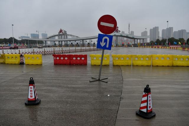 Foto: Hari Pertama Imlek, Kota Wuhan Sepi Imbas Virus Corona (34175)