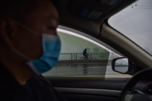 Foto: Hari Pertama Imlek, Kota Wuhan Sepi Imbas Virus Corona (34176)