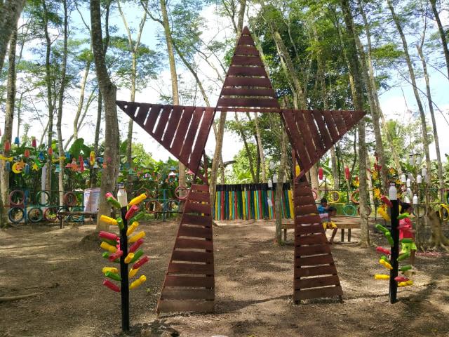 Menikmati Kesejukan Hutan Albasia, Wisata Alam di Kubu Raya, Kalbar (65166)