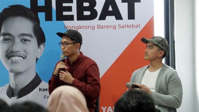 Kaesang Pangarep, Jonathan End, Nongkrong Bareng SaHebat