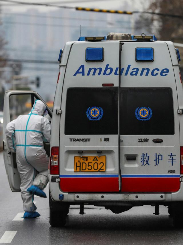 PTR, Petugas medis, virus corona, Hubei, China