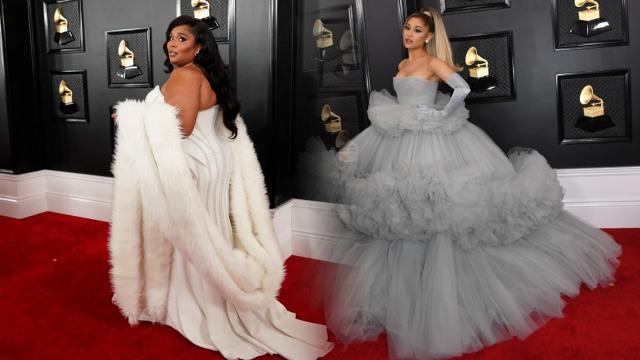 Lizzo dan Ariana Grande di Grammy Awards 2020
