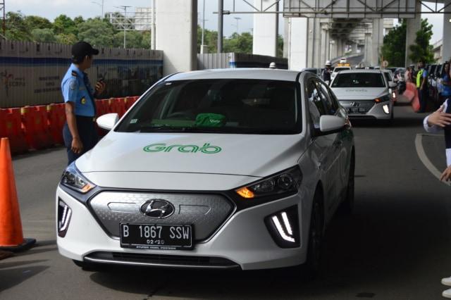 Otomotif, Hyundai, Hyundai Ioniq, mobil listrik, Grab