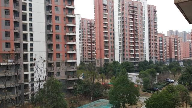 Suasana kota Wuhan