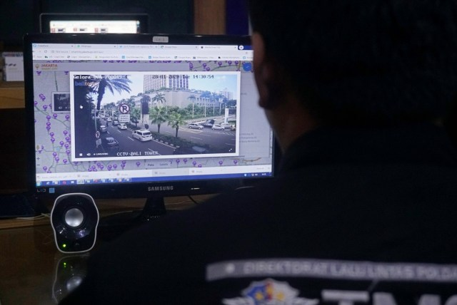 Foto: Melihat Pusat Komando ETLE yang Bidik Pemotor Bandel di Jakarta (759989)