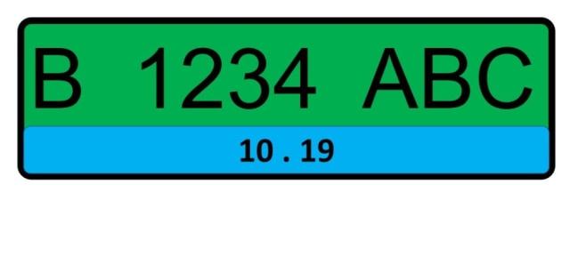 Pelat Nomor Kendaraan Listrik Bakal Berwarna Biru, Ini Tampilannya (46040)