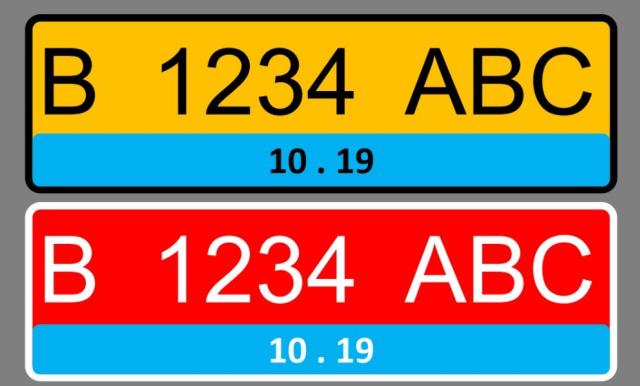 Pelat Nomor Kendaraan Listrik Bakal Berwarna Biru, Ini Tampilannya (46039)