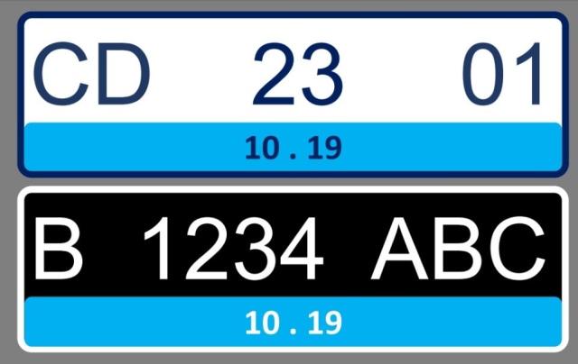 Pelat Nomor Kendaraan Listrik Bakal Berwarna Biru, Ini Tampilannya (46038)