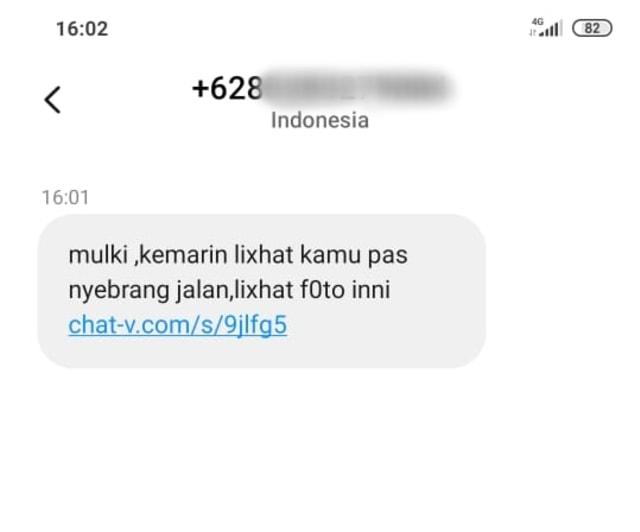 Dapat Sms Spam Yang Sebut Nama Ini Yang Harus Dilakukan