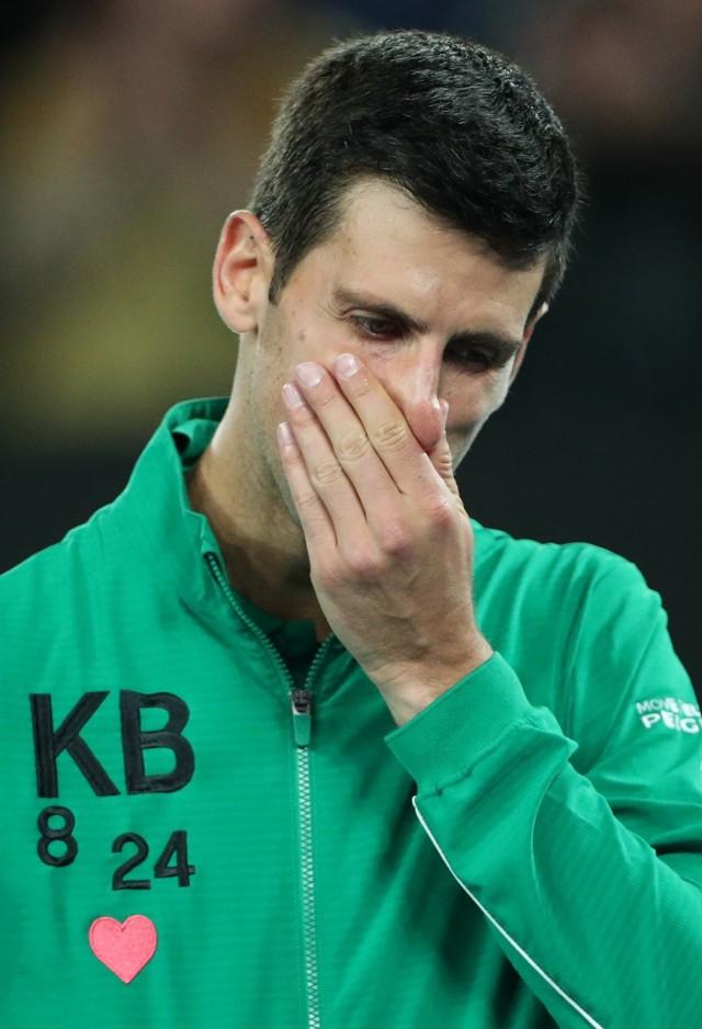 Kb 8 24 Tribute Penuh Haru Novak Djokovic Untuk Kobe Bryant Kumparan Com