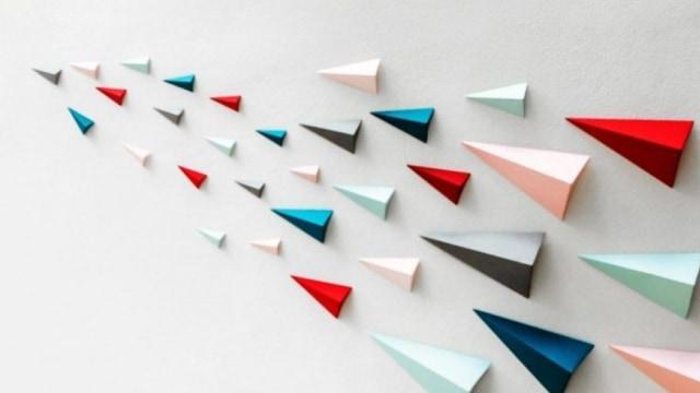 Mudah Dibuat Ini 7 Hiasan Dinding Dari Origami Untuk Ramaikan Rumahmu Kumparan Com
