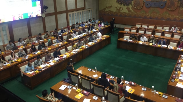 Rapat komisi VI dengan Kemendag