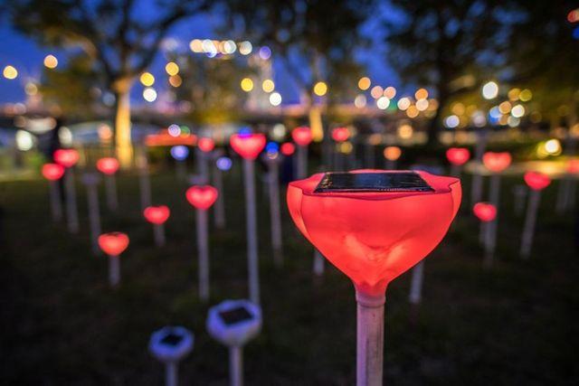iLight Singapore, Warna-warni Pesta Cahaya di Marina Bay Singapura (249674)