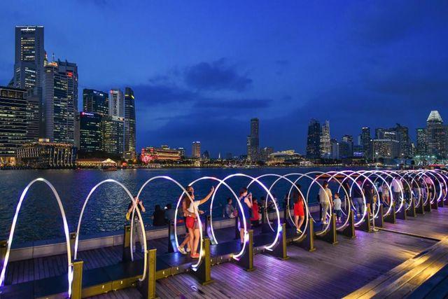 iLight Singapore, Warna-warni Pesta Cahaya di Marina Bay Singapura (249672)