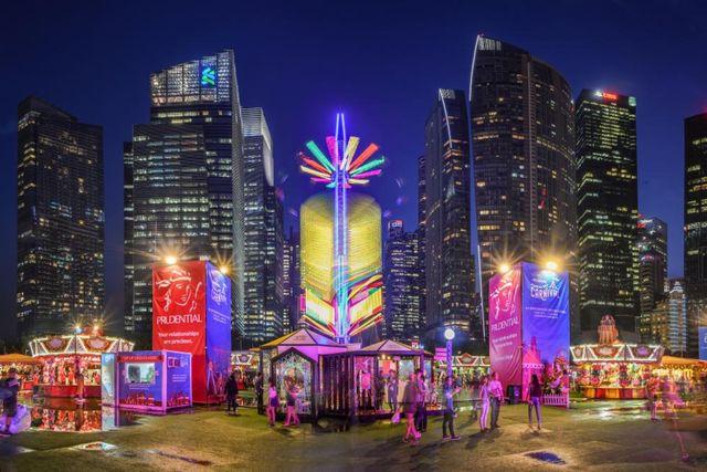 iLight Singapore, Warna-warni Pesta Cahaya di Marina Bay Singapura (249673)