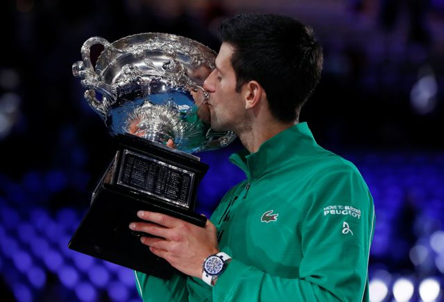 Novak Djokovic Final Australia Open