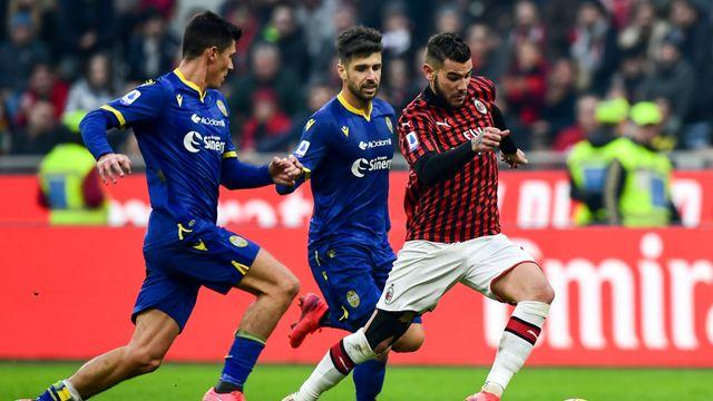 Laga Milan vs Verona.