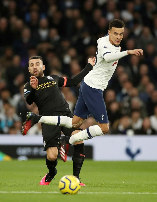Tottenham Hotspur melawan Manchester City-PTR