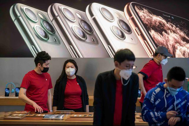 LIPSUS VIRUS CORONA- toko Apple Beijing