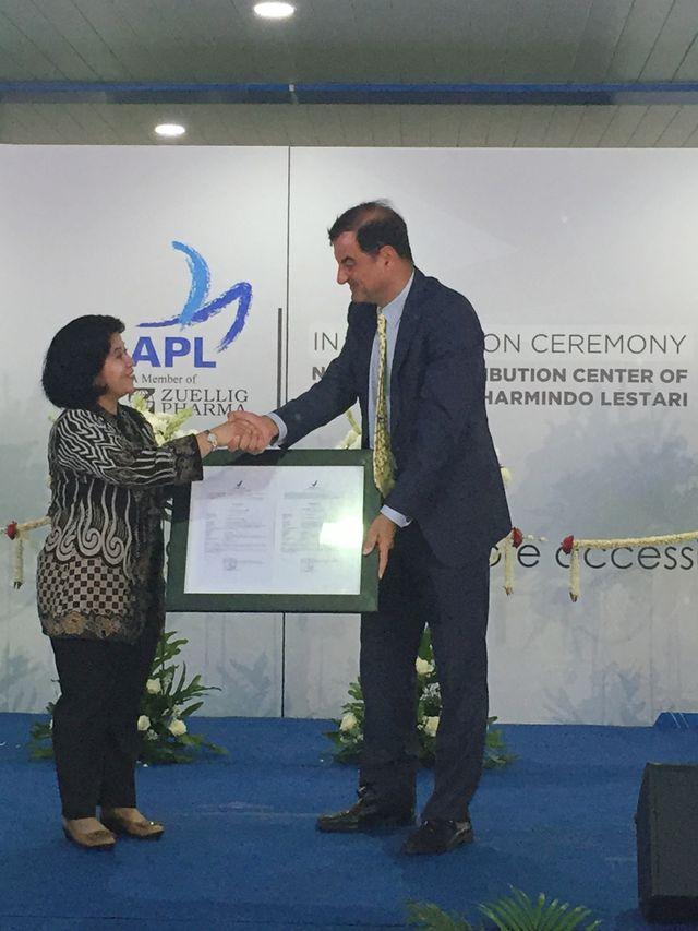 APL Resmikan Gudang Distribusi Produk Kesehatan Rp 300 M di Cikarang (118081)