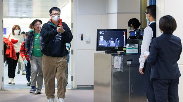 pemeriksaan virus corona warga Taiwan