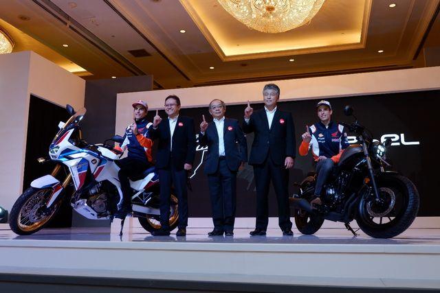 Foto: Duo Marquez Luncurkan Motor Baru Honda di Jakarta (394)