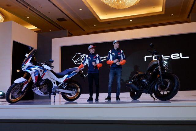 Foto: Duo Marquez Luncurkan Motor Baru Honda di Jakarta (390)