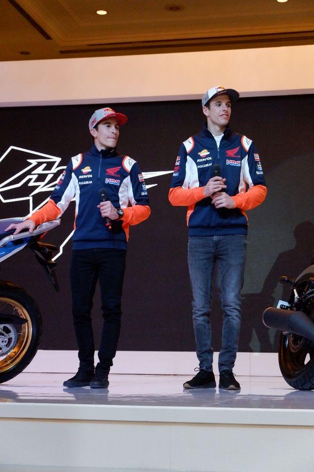 Foto: Duo Marquez Luncurkan Motor Baru Honda di Jakarta (392)