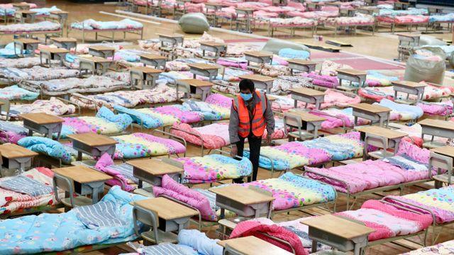 Ruman Sakit Sementara di Wuhan