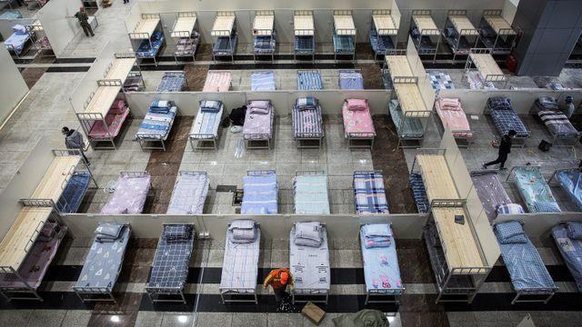 Rumah sakit virus corona di Wuhan