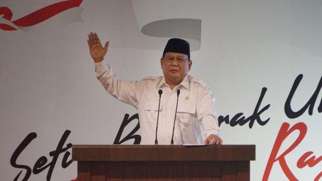 Pesan Prabowo ke Kader di HUT Gerindra: Harus Vaksin; Jangan Bikin Gaduh (184621)