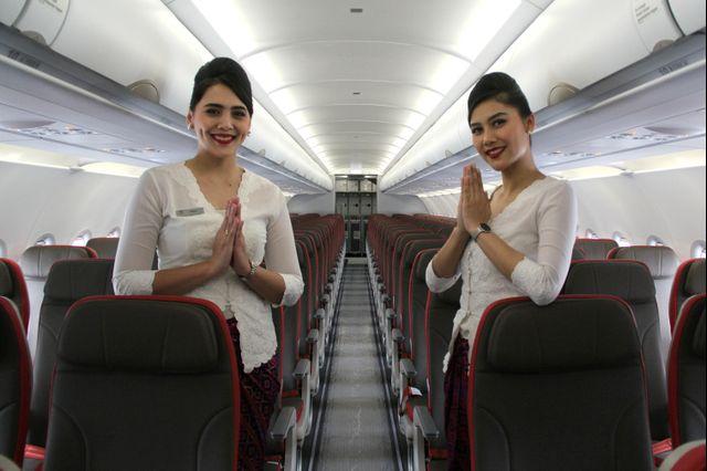 Pesawat Batik Air Airbus 320 NEO, Pramugari, awak kabin
