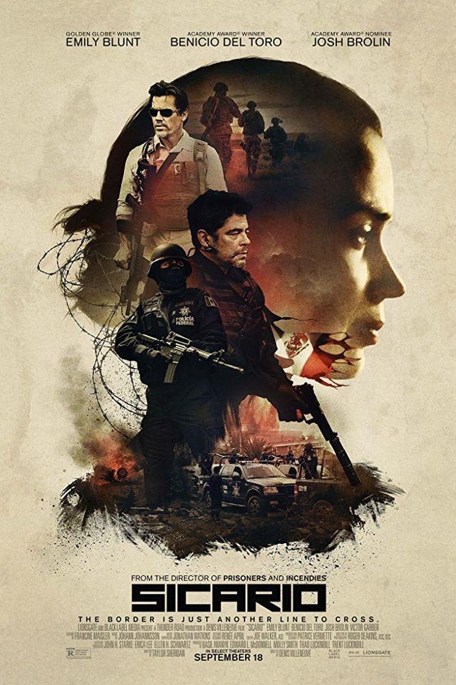 PTR - Poster film Sicario