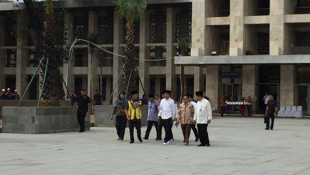 Jokowi Setuju Ada Terowongan Silaturahmi Masjid Istiqlal dan Katedral (291395)