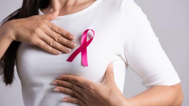 Ilustrasi kanker payudara (COV)