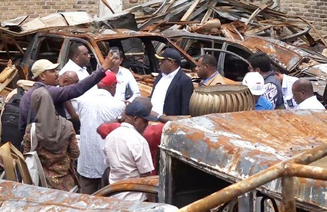 Wamen PUPR Wetipo Minta Semua Pihak Bantu Proses Pemulihan Kota Wamena (248504)