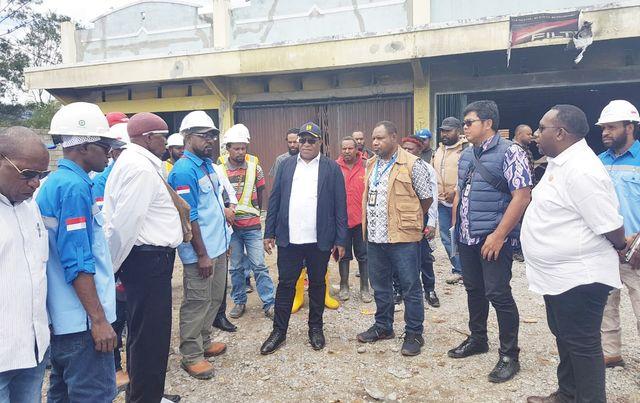 Wamen PUPR Wetipo Minta Semua Pihak Bantu Proses Pemulihan Kota Wamena (248506)