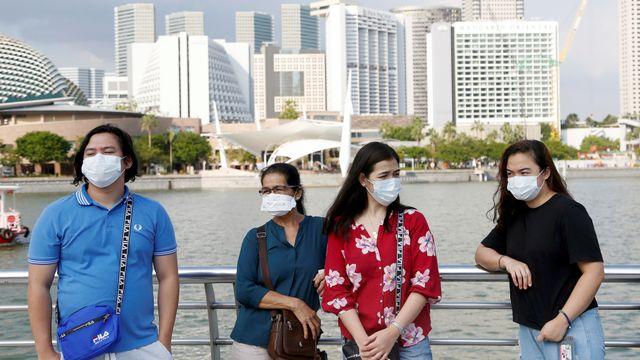 virus corona di Singapura
