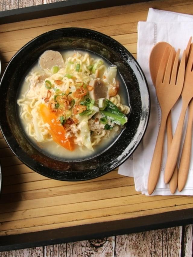 PTR- Mi godog Jawa untuk makan bersama keluarga