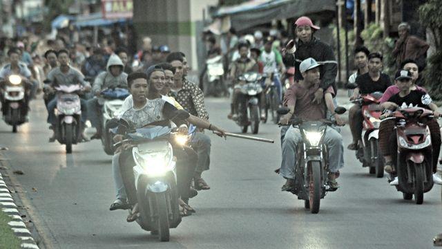 LIPSUS Klitih Yogya - Ilustrasi kekerasan di jalanan