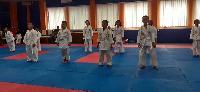 Ratusan Karateka Inkai Karimun Ikuti Uji Kenaikan Sabuk (47925)