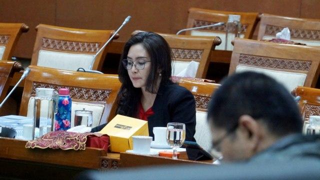 Baleg DPR Sudah Terima Surat Pencopotan Rieke Diah Pitaloka  (990237)