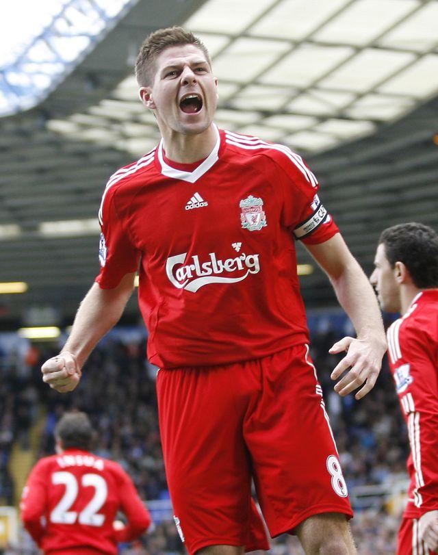 [PORTRAIT] Steven Gerrard, Liverpool