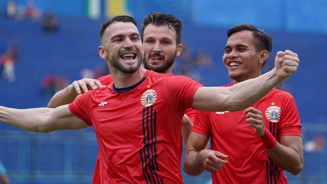 Persija vs Persela Piala Gubernur Jatim 2020