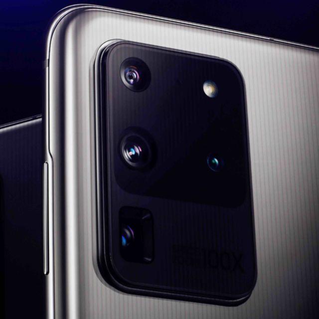 Kamera Galaxy S20 Ultra (Square)